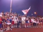 Cannon students show pride in their country.