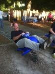 Mr. Cobb had a blast on the Freshmen Beach trip!