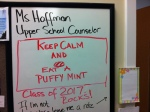 Counselor Hoffman's mints help any situation.