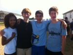 Freshmen friends