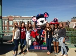 Juniors at the Red Socks game!