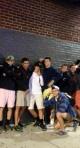 Junior boys in Boston