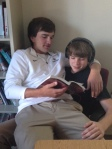 Junior love and English Huck Finn... what joy!