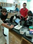 Ms. Wittman's biology class shows their passion.