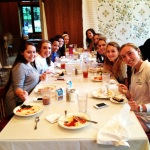 Senior girls bond and relax at Montreat
