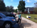 Thanks to all the parents and students who washed the teachers cars to show appreciation. Wow!