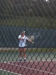 Varsity Tennis wins on Tuesday night