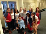 Kundel's advisory shows American pride and school spirit.