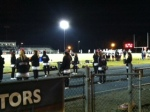 Football game against Victory Friday night.
