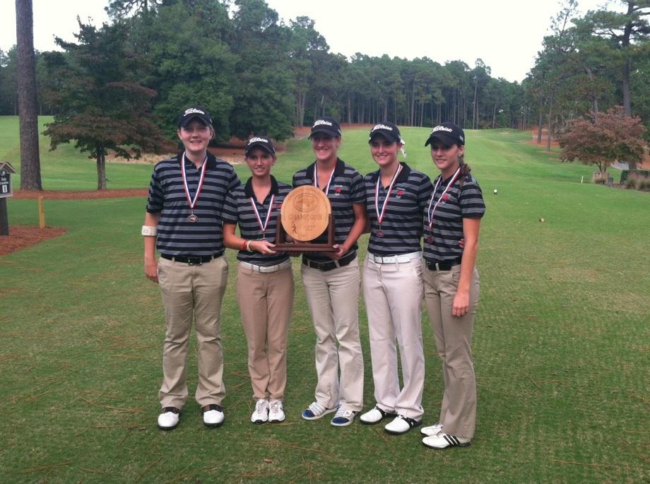 Girls Varsity Golf Team 2013