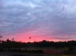 Beautiful Sunrise this morning.