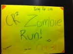Getting excited for Zombie run next week!