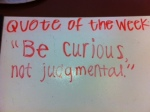 House quote of the week.