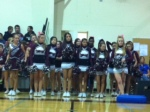 Cheer Leaders get recognized for their spirit.