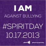 All are encouraged to wear purple this Thursday to show  support against bullying.