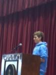 Dalton elected as Freshmen Rep for student council
