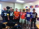 Jersey day.
