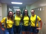 Mrs. Huffman's minions.