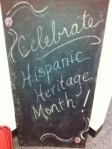 World Language Department celebrates Hispanic Heritage Month.