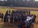 Teams gather for Cr2 race.