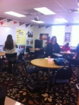 College representative from Berry came to talk to Cannon students yesterday.