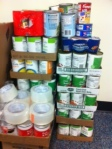 Cans  from Cannon were taken Wednesday to the Food Bank. Thank you for all of your support.