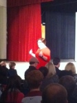 Mrs. Huffman presents at Rhinoceros.