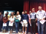 Congratulations to all students who were honored for their math skills.