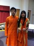 Vibrant, beautiful attire from India.