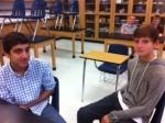 Freshmen enjoy advisory.