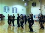 Half time flash mob.