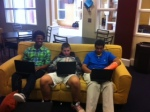 Students enjoy student choice in the Commons
