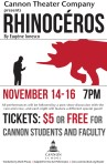 Cannon School's student theater company kicks off season with Ionesco's Absurdist classic