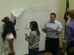 Freshmen analyze their learning styles.