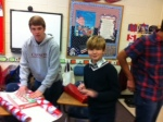Upper school students and lower school students unite to provide a fabulous Christmas for everyone.