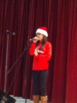 Aspen shared her talent during the talent show.