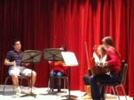 Enchanting strings quartet. Such talent!