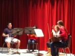 Enchanting strings quartet. Such talent!