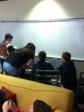 Last minute prep work for midterm assessment.