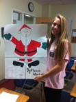 Check out the math project of Hannah's. She is smart and spreads the Christmas Joy!