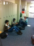 Freshmen use Student Choice to get work done.