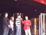 Students share their natural highs during Bellace's talk.
