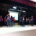 A fabulous dance performance by our Tian Li guests yesterday in Community meeting.