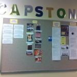 Seniors are making progress on their Capstone projects.