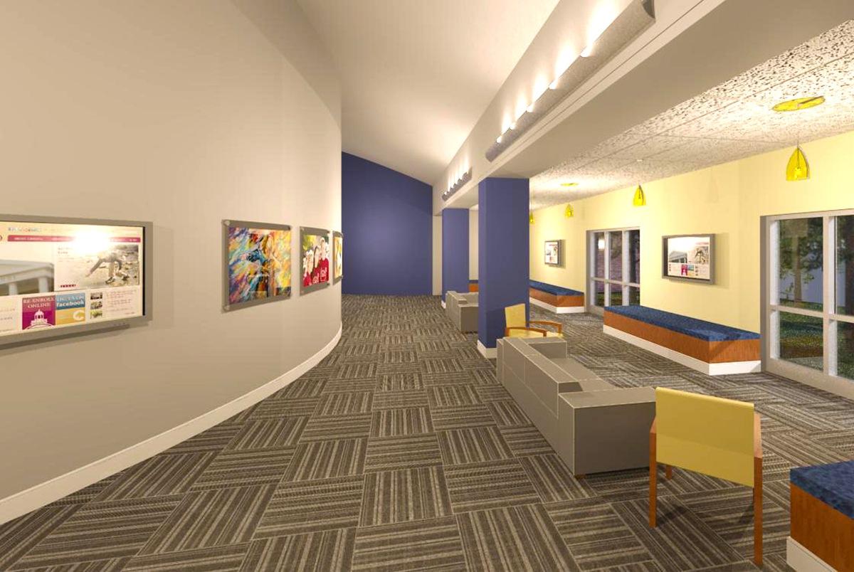 MS interior rendering