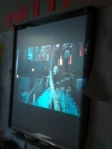 Students watch the newest version of the Great Gatsby in English III.