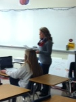 Mrs. Stavrakis teaches AP lang .