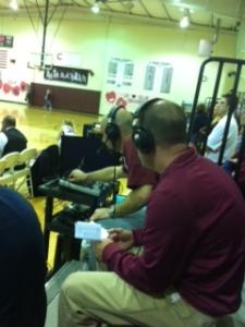 CSPN covered Senior night game.
