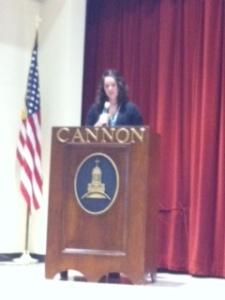 Mrs. Hylton announced Cum Laude members.
