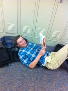 Freshmen read Lord Of The Flies.